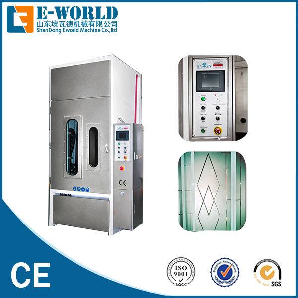 Eworld Machine low moq automatic sandblasting machine manufacturers factory for manufacturing