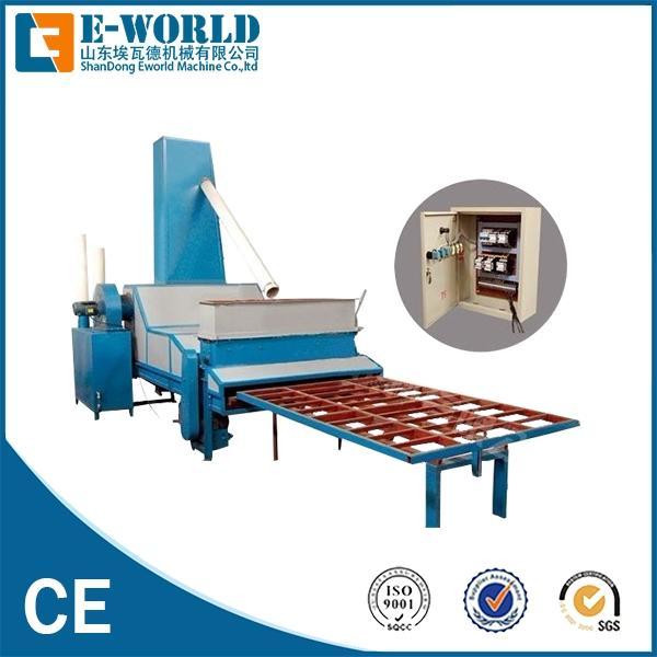 High productivity Automatic Horizontal sandblasting glass machinery