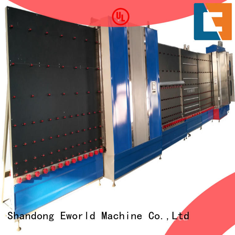 Eworld Machine standardized vertical insulating glass machine provider for commercial industry