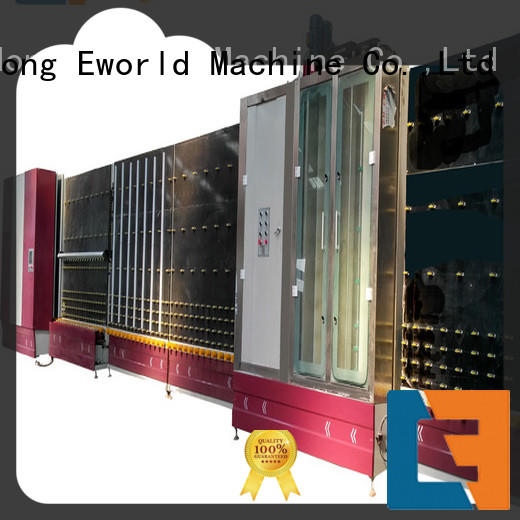Eworld Machine vertical insulating glass machinery provider for commercial industry
