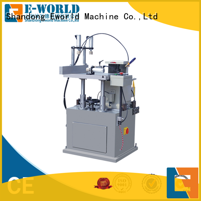 Eworld Machine technological upvc and aluminum window machine supplier for manufacturing