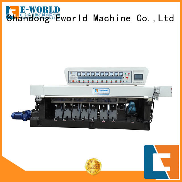 Eworld Machine technological glass polish hand machine supplier for manufacturing