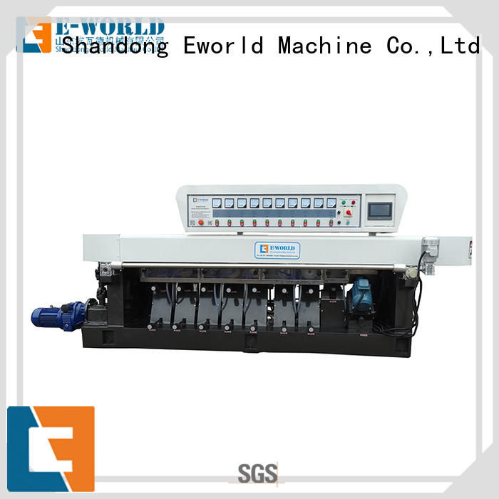 Eworld Machine technological glass beveling machine manufacturer for global market
