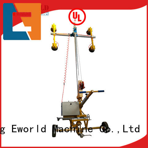 Eworld Machine portable glass  cup suction lifter supplier for industry
