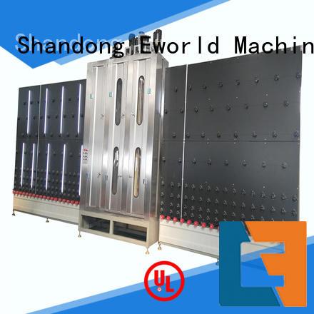Eworld Machine trade assurance automatic glass washing machine international trader for manufacturing