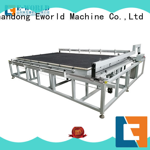 Eworld Machine reasonable structure arc glass cutting machine dedicated service for machine