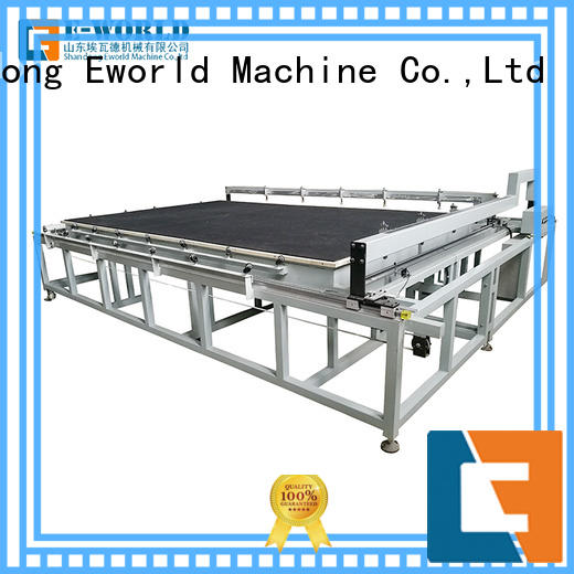 Eworld Machine stable performance glass cutting machine exquisite craftsmanship for sale