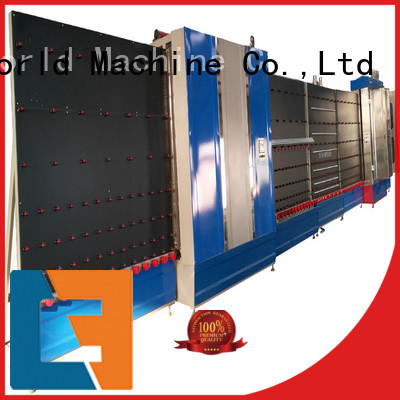 Eworld Machine low moq vertical insulating glass machine wholesaler for manufacturing