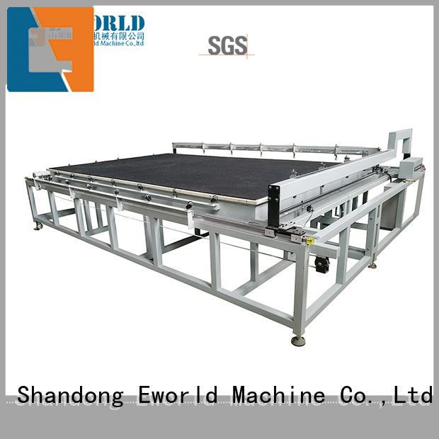 Eworld Machine nc laminated glass cutting machine dedicated service for machine