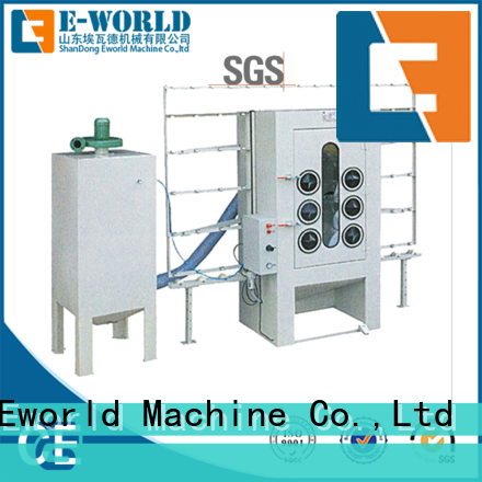 competitive price auto sandblasting machine machine from China for manufacturing
