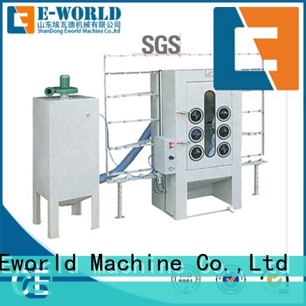 competitive price auto sandblasting machine machine from China for manufacturing