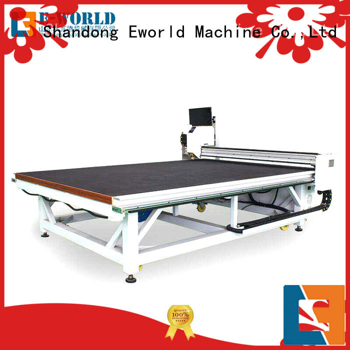 Eworld Machine horizontal glass cutting machine dedicated service for machine