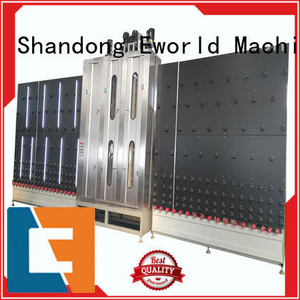 Vertical automatic high speed glass washer
