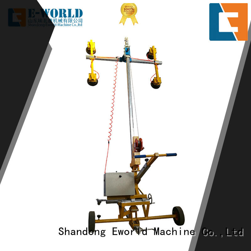 Eworld Machine unique design battery glass vacuum lifter supplier for industry