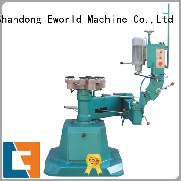 Eworld Machine fine workmanship glass double edger machine round for industrial production