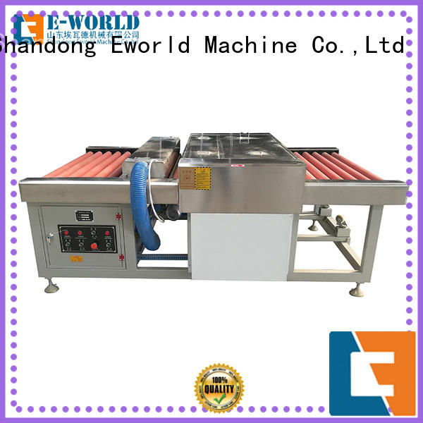 Eworld Machine trade assurance glass cleaning machine supplier for industry
