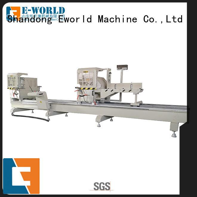 Eworld Machine double aluminium window crimping machine supplier for industrial production