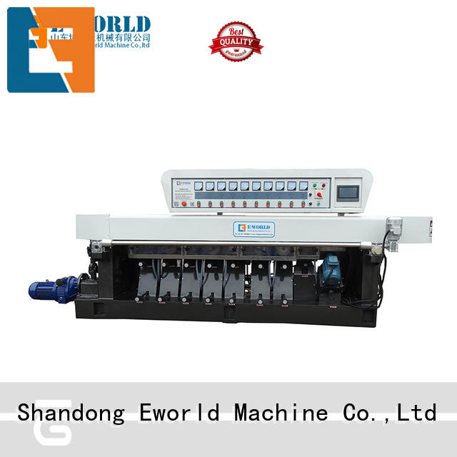double glass edging machine for sale supplier for industrial production Eworld Machine