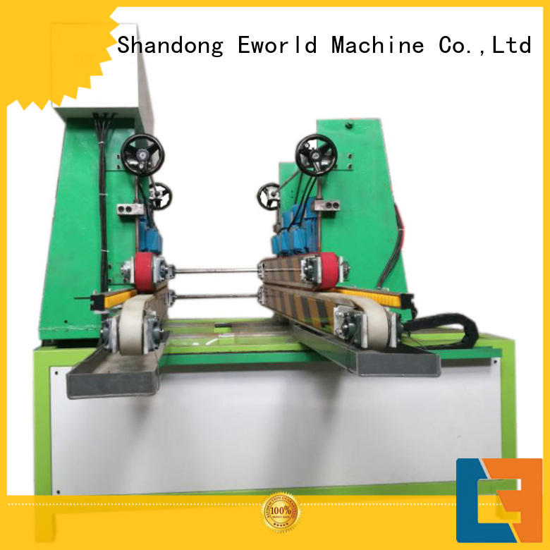 Eworld Machine shape glass beveling polishing machine supplier for industrial production