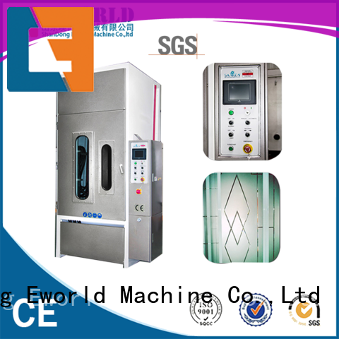 low moq vertical glass sandblasting machine sandblasting factory for industrial production