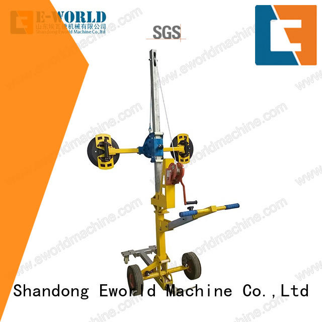 Eworld Machine original dual cup suction lifter factory for distributor