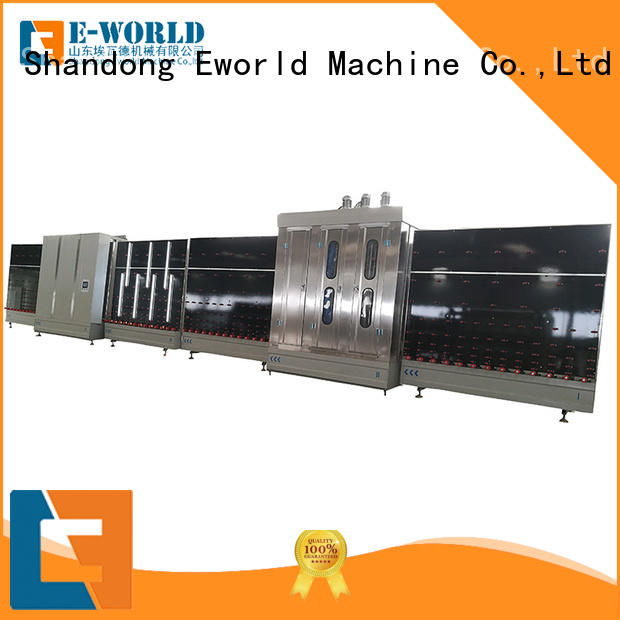 Eworld Machine fine workmanship insulating glass line factory for manufacturing