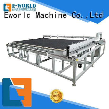 Eworld Machine stable performance manual mosaic glass cutting table foreign trader for industry