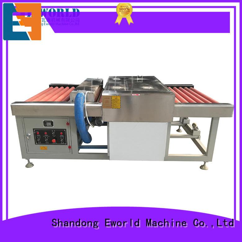 Eworld Machine horizontal flat glass washing machine international trader for manufacturing