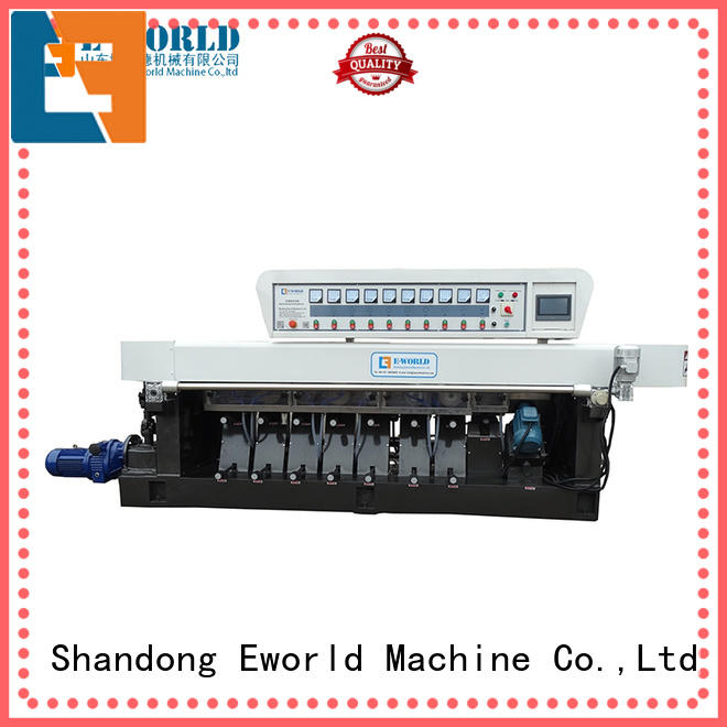 Eworld Machine functional glass edging machine price supplier for global market