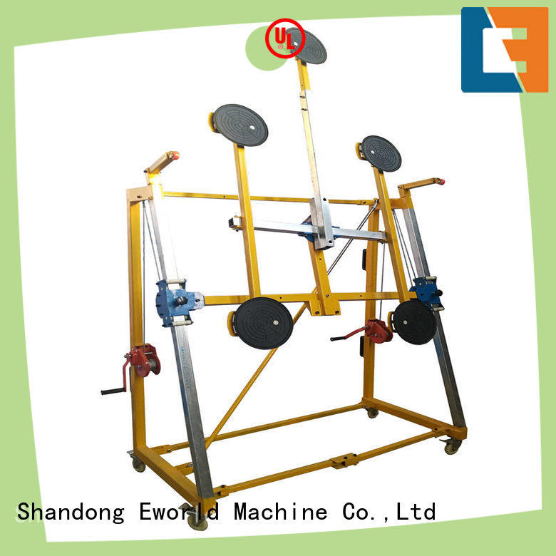 Eworld Machine equipment glass vacuum handling lifter for distributor