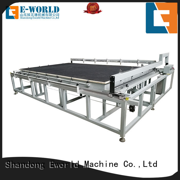 Eworld Machine arc glass cutting equipment foreign trader for sale