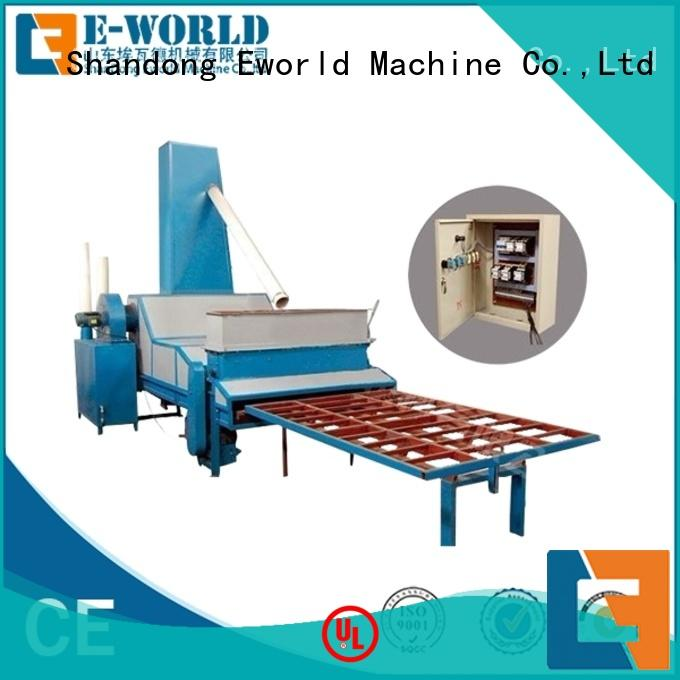 Eworld Machine competitive price sandblasting glass machine from China for industrial production
