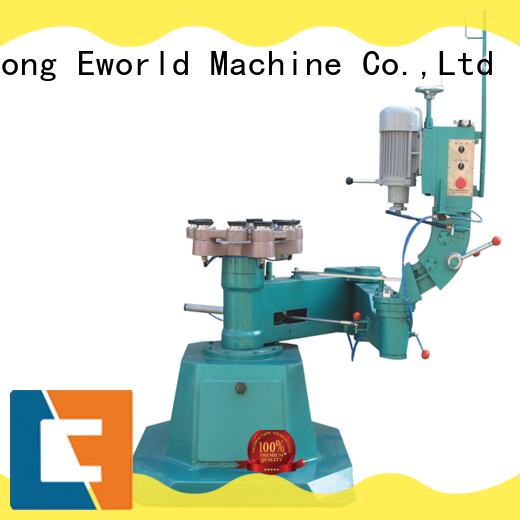 Eworld Machine trade assurance flat glass edging polishing machine OEM/ODM services for manufacturing