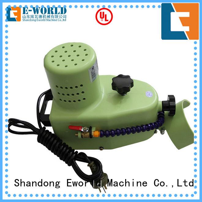 Eworld Machine small glass edge machine manufacturer for global market
