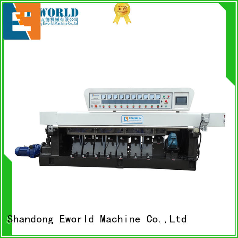 Eworld Machine technological glass edge processing machinery supplier for global market