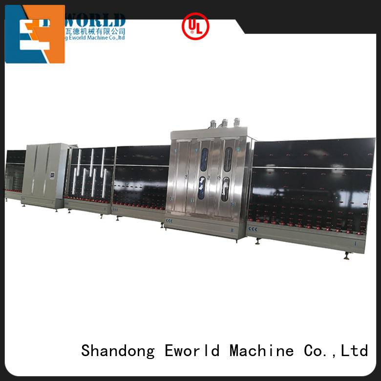 Eworld Machine vertical vertical insulating glass machine provider for commercial industry