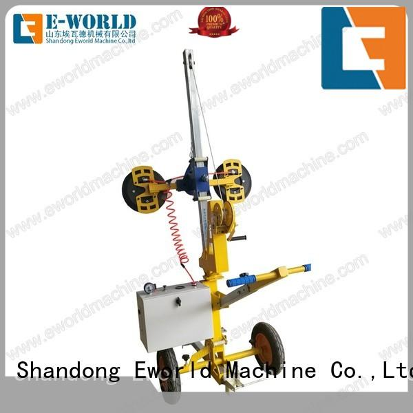 customized curved bus glass lifter bus for distributor Eworld Machine
