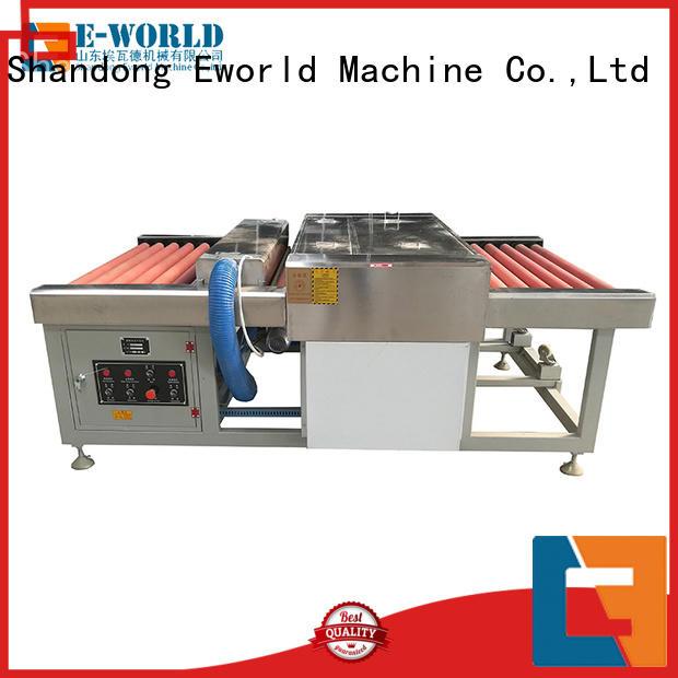Eworld Machine trade assurance automatic glass washing machine supplier for distributor