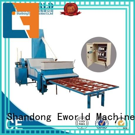 Eworld Machine sandblasting vertical glass sandblasting machine factory for manufacturing