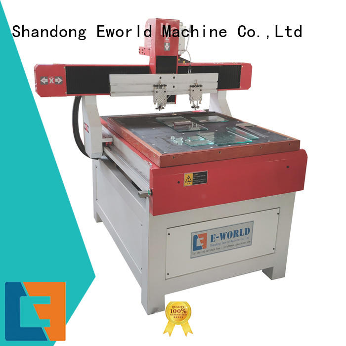 Eworld Machine reasonable structure glass loading cutting table dedicated service for industry