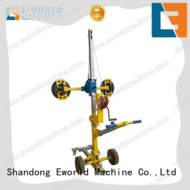 Eworld Machine standardized glass lifter supplier for distributor