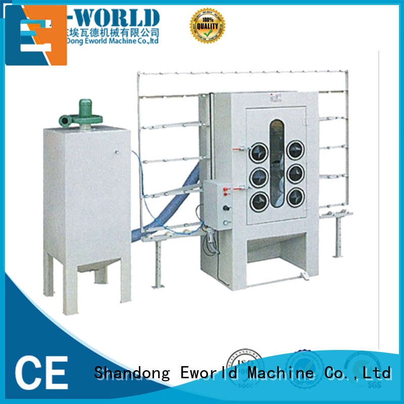 competitive price automatic sandblasting machine manufacturers glass from China for manufacturing