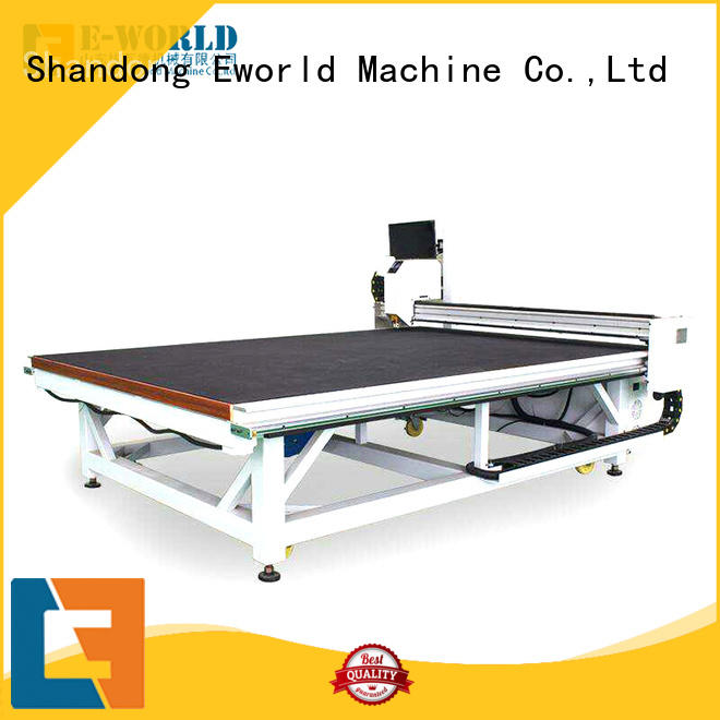Eworld Machine reasonable structure cnc glass cutting machine dedicated service for sale