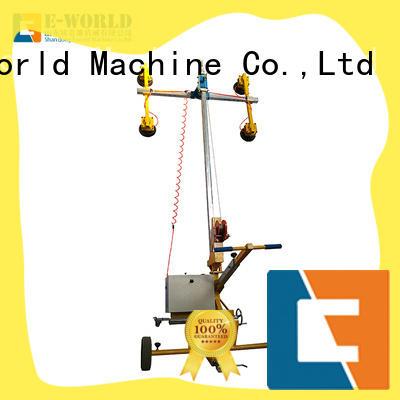 Eworld Machine unique design mobile glass lifter supplier for distributor