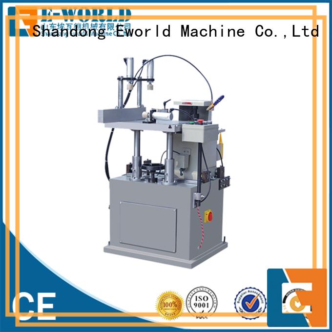 Eworld Machine fine workmanship aluminium crimping machine suppliers corner for industrial production