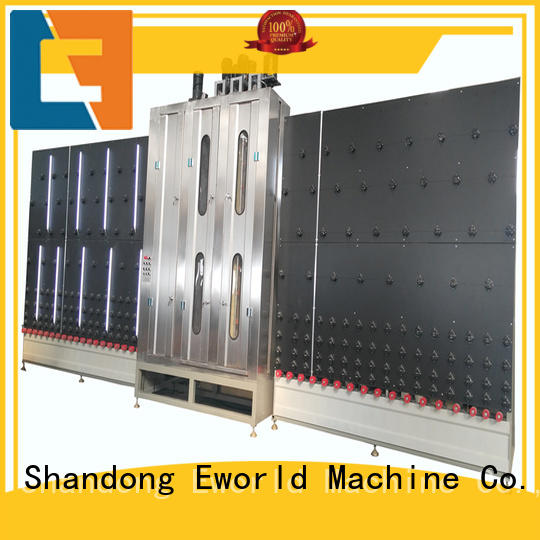Eworld Machine trade assurance vertical glass washing machine international trader for distributor