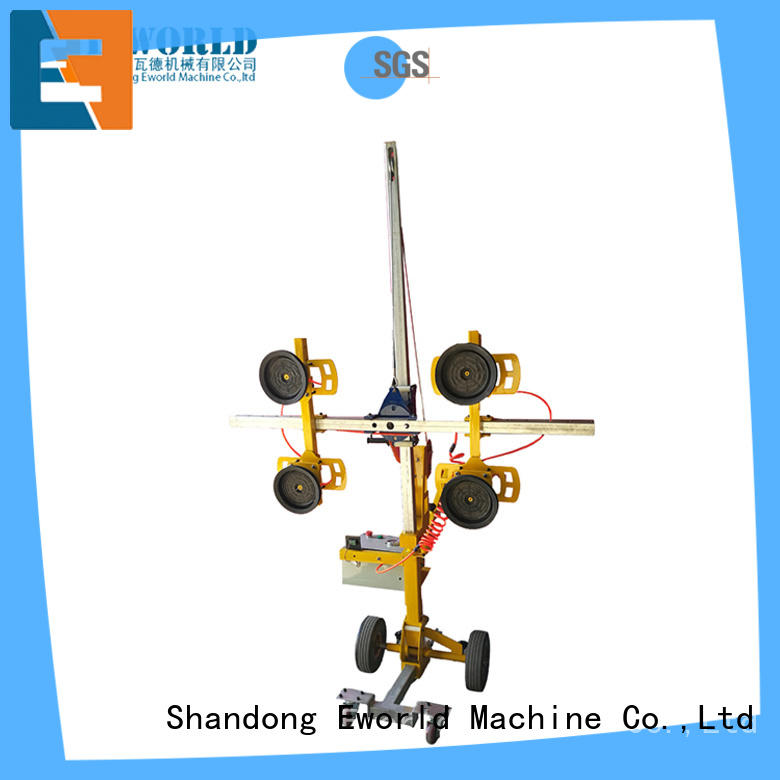 Eworld Machine standardized electric vacuum glass lifter heavy for industry