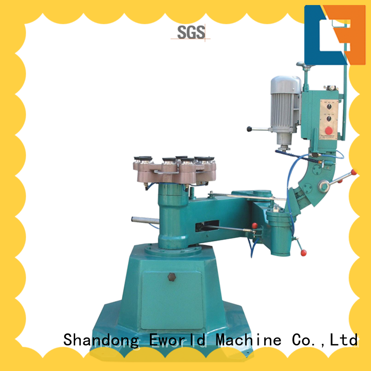 Eworld Machine fine workmanship glass edge processing machine manufacturer for global market