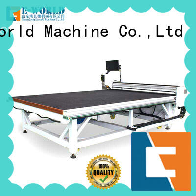 Eworld Machine reasonable structure glass cutting table price foreign trader for machine