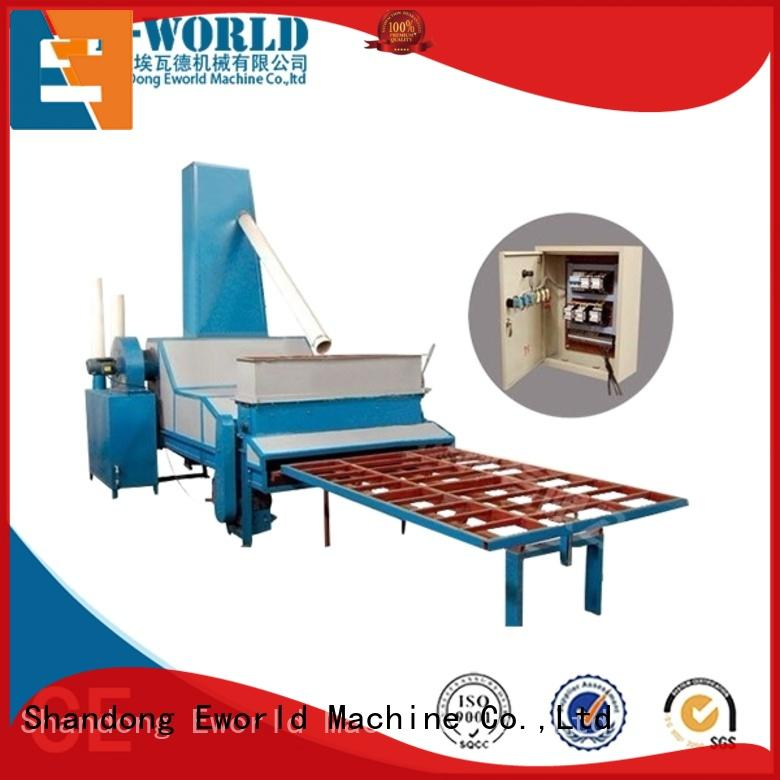 Eworld Machine machinery furniture glass sandblasted machine factory price for industry